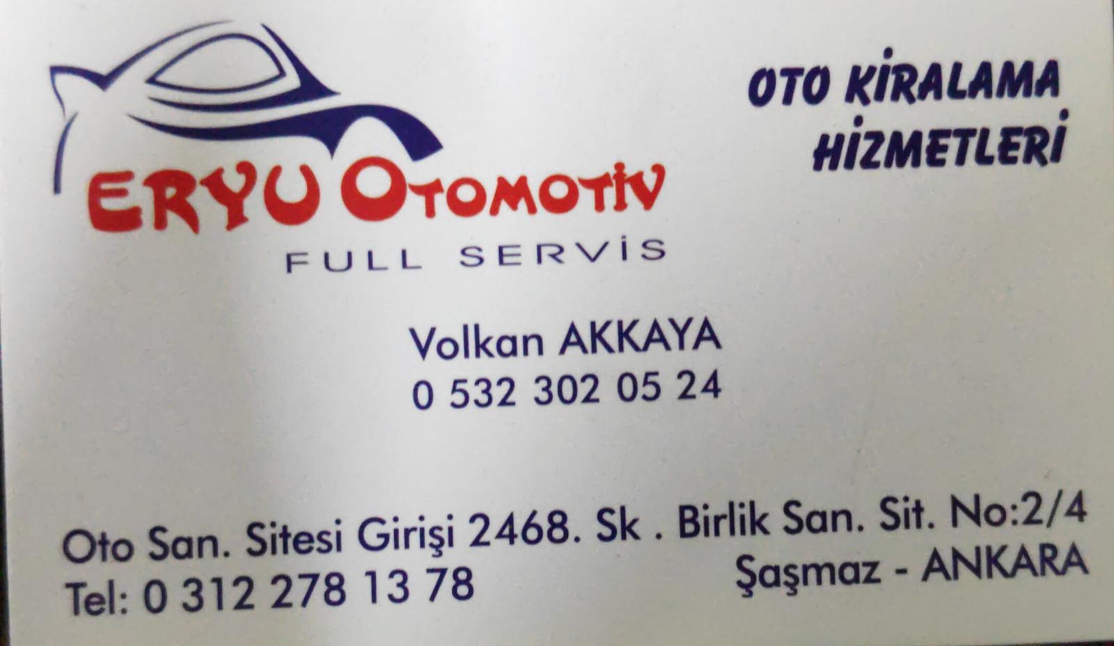 Eryu Otomotiv